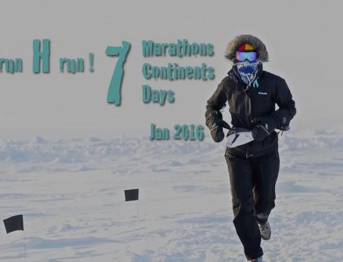 Member spotlight – Heather Hawkins, World Marathon Challenge