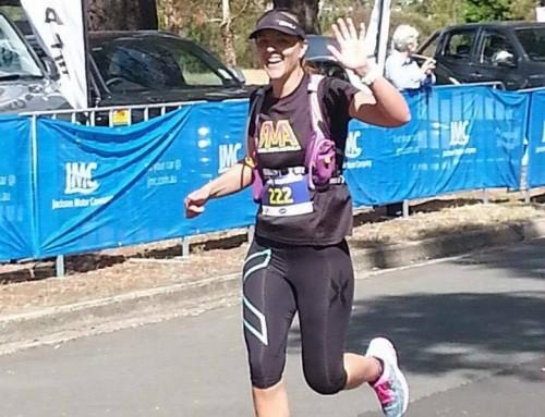 My first marathon at Cadbury marathon, Hobart