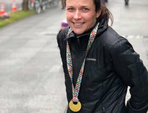 Tokyo Marathon by Rebecca Brown