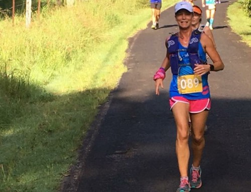 Running changed my life. By Jackie Scotchmer