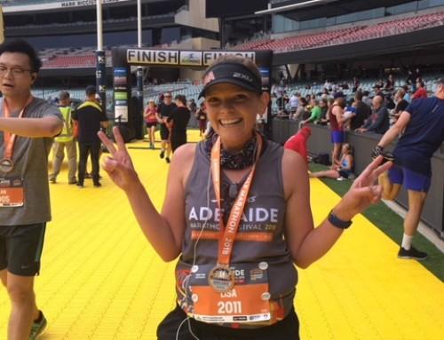 My first half-marathon: The Adelaide Marathon Festival Recap by Lisa Beatty