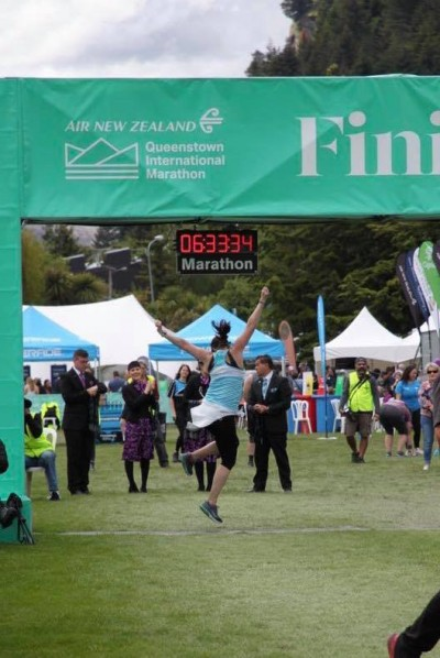 Queenstown Marathon by Emma Griffin