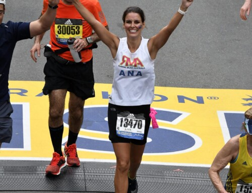 123rd Boston Marathon- Chasing The Unicorn by Ana Croger