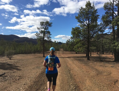Running blind. Hubert 100 race recap by Lisa Cundy.