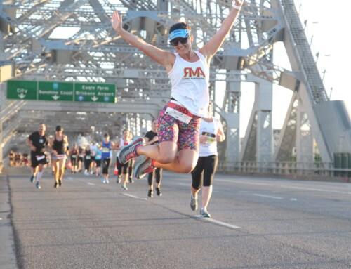 Brisbane Marathon recap by Jodi Poulson