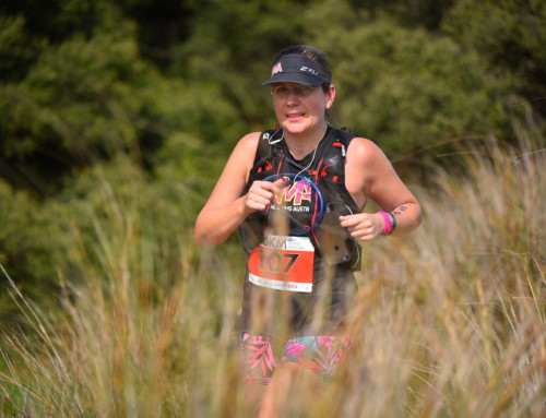 I am the storm – Surf Coast Century 100k by Jennifer Brookes.