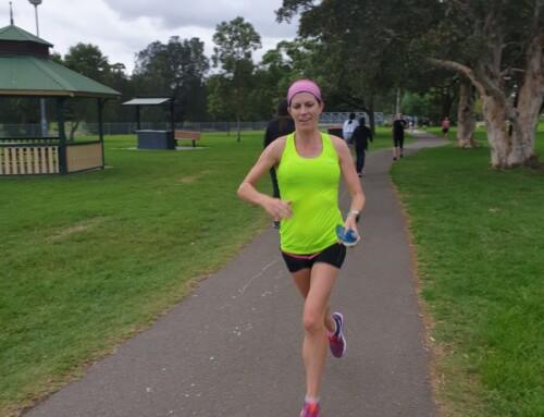 My marathon by Bronwyn Hager