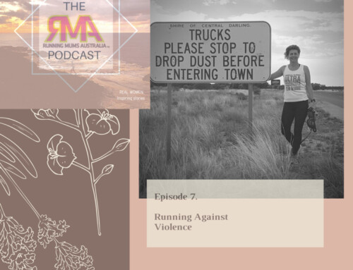 The RMA Podcast. Episode 7. Running Against Violence with Kirrily Dear.