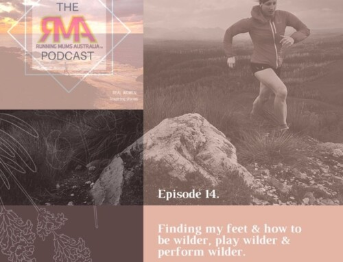 The RMA podcast episode 14. Finding my feet & how to be wilder, play wilder and perform wilder With Hanny Allston.