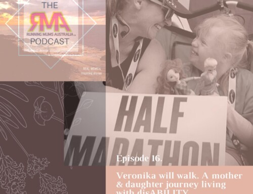 The RMA Podcast. Episode 16. Veronika will walk. A mother & daughter journey living with disABILITY.