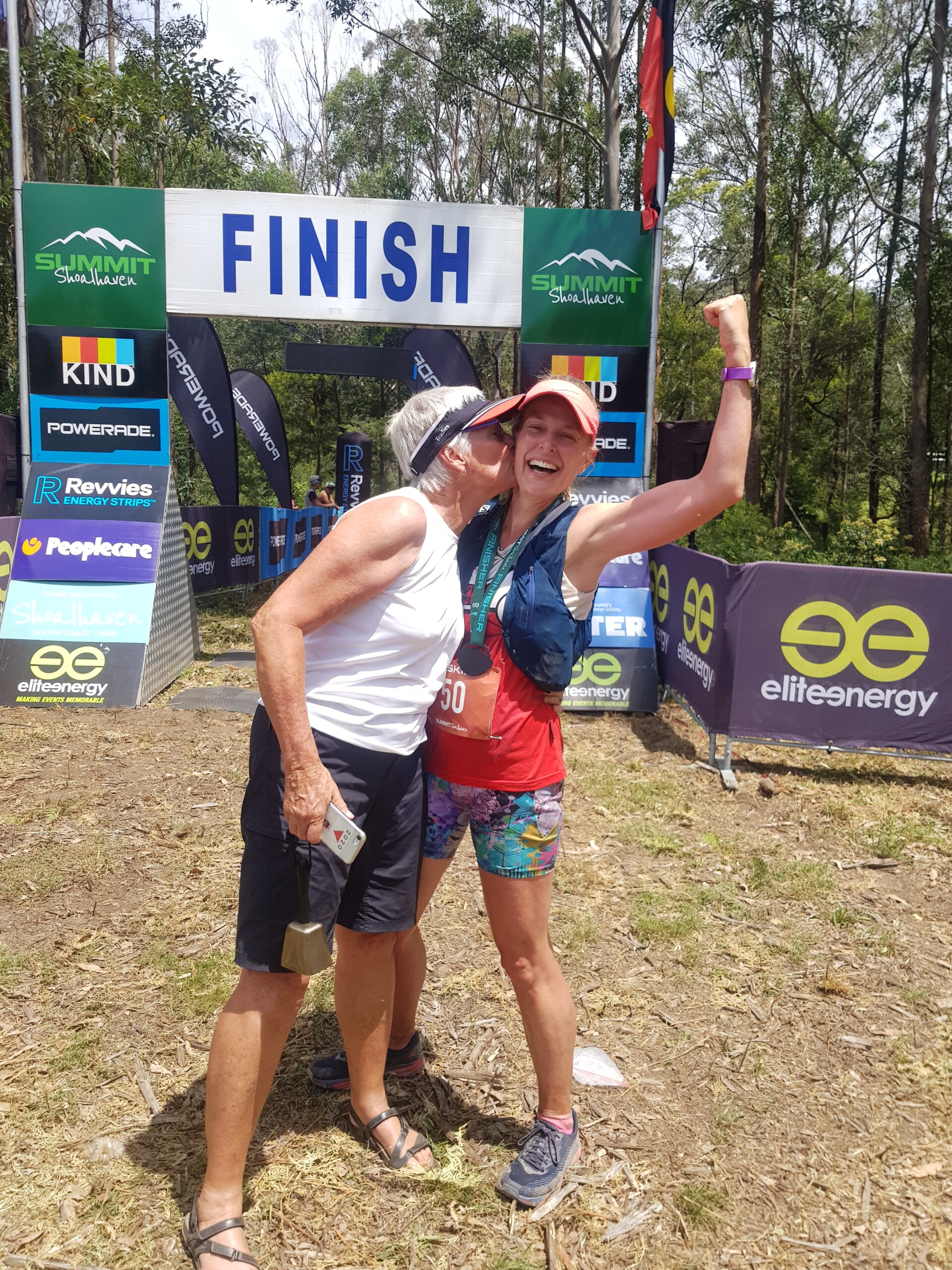 How to Have Fun in a Furnace:  A Summit Shoalhaven Ultramarathon Recap. by Sally Hinchey